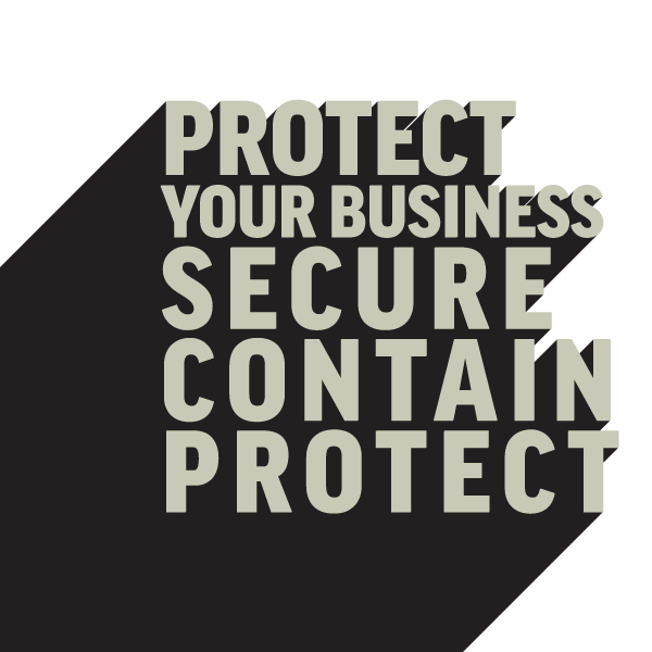 Cybersecurity services protection textart